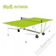 Теннисный стол складной Cornilleau Vitamin Outdoor green 5 мм
