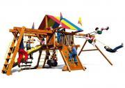 Игровая площадка Rainbow Sunshine Castle Pkg III RYB Light