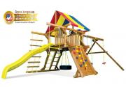 Игровая площадка Rainbow American Castle Package II RYB