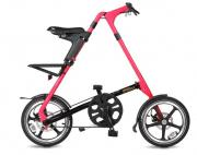 Велосипед Strida LT 2017 Neon pink matt black