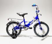 """Велосипед 2-х колесный Mars 12"""" С1201 с ручкой blue/black..."""