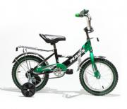 """Велосипед 2-х колесный Mars 12"""" С1201 с ручкой green/black..."""