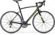 "Велосипед Merida Ride 100-24 (2016) M-L 54cm"" Silk Black (green)"