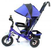 Детский трехколесный велосипед Formula F-5000 (Blue) с родительской...