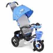 Велосипед 3-х колесный Mars MINI TRIKE СЛОНИК (синий) надувные колеса...