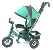 Детский трехколесный велосипед Formula F-5000 (Green) с родительской...