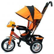 Детский трехколесный велосипед Formula F-7000 (Orange) с родительской...