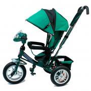 Детский трехколесный велосипед Formula F-7000 (Green) с родительской...