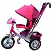 Детский трехколесный велосипед Formula F-7000 (Pink) с родительской...