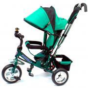Детский трехколесный велосипед Formula F-3000 (Green) с родительской...