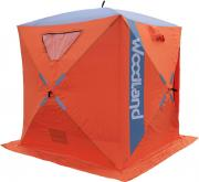 Палатка зимняя WOODLAND ICE FISH 4, цвет: оранжевый.48934