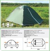 Двухместная палатка Comfortika - Trekker 2 Plus