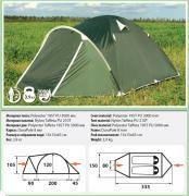 Двухместная палатка Comfortika - Pamir 2