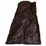 Спальный мешок гражданский черного цвета