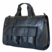 Carlo Gattini Дорожная сумка Alcantara black