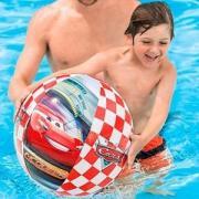 Детский надувной мяч тачки intex, 61 см