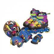 Gulliver Sport Набор роликовые коньки + защита TMNT (размер 30-33)