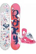 Сноуборд Roxy Poppy 128 Package Multicolor