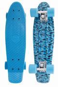 Пенниборд Atemi Penny Board APB-7.15 Black-Blue