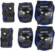 """Защита роликовая MaxCity """"Standard"""", цвет: синий, черный. Размер S"""
