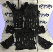 Комплект пластиковой защиты днища для Yamaha Grizzly 2014+