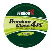 Шнур плетёный Helios Premium Class 4 PE Braid 0.15mm 135m Green...