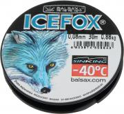 "Леска зимняя Balsax ""Ice Fox"", 30 м, 0,08 мм, 0,88 кг"