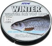 "Леска зимняя Atemi ""Winter Roach"", 30 м, 0,20 мм, 5,45 кг"