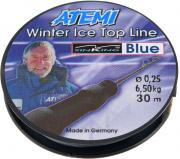 "Леска зимняя Atemi ""Winter Blue"", 30 м, 0,25 мм, 6,5 кг"