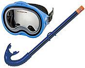 Adventurer swim set набор для подводного плавания: маска с трубкой, от...