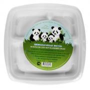 """Набор квадратных био-тарелок """"Greenmaster"""", три секции, цвет: белый,..."""
