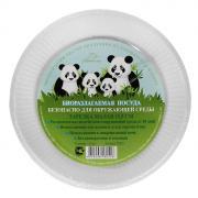 "Набор био-тарелок ""Greenmaster"", цвет: белый, диаметр 15,5 см, 20 шт"