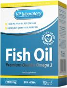 VP Lab Fish Oil 1000мг 60 капсул
