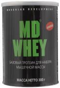 """Протеин MD """"Whey"""", шоколадный, 300 г"""