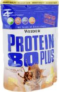"""Протеин Weider """"Protein 80 Plus"""", шоколад, 500 г"""