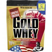 Протеин сывороточный Weider Gold Whey Protein клубника/крем 500г