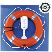 Линь бросательный для спасательных кругов белый Hansa 6 мм x 30 м
