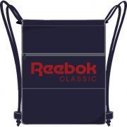 Рюкзак спортивный Reebok Cl Fo Gymsack, цвет: синий