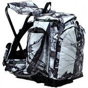 """Рюкзак """"AVI-Outdoor Hagle snow camo"""" 45 л. со встроенным стульчиком"""