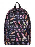 Рюкзак городской женский Roxy Be Young, цвет: черный, мульти, 24 л....