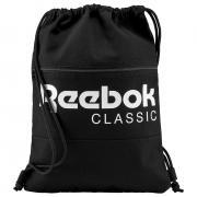 Рюкзак спортивный Reebok Cl Fo Gymsack, цвет: черный