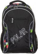 Рюкзак детский городской Polar, 26 л, цвет: черный. П0082-05