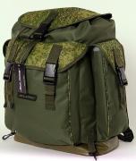 Рюкзак SOLARIS классический с боковыми карманами 43 л, пиксель/олива