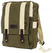 """Рюкзак городской мужской Polar """"Adventure"""", цвет: оливковый, бежевый,..."""