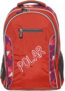 Рюкзак детский городской Polar, 26 л, цвет: оранжевый. П0082-02