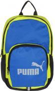 "Рюкзак городской Puma ""Phase Small Backpack"", цвет: желтый, голубой...."
