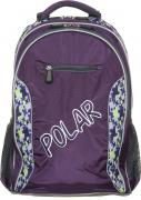 Рюкзак детский городской Polar, 26 л, цвет: фиолетовый. П0082-29