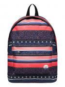 Рюкзак городской женский Roxy Be Young, цвет: синий, оранжевый, 24 л....