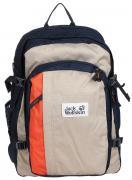 Рюкзак городской Jack Wolfskin Berkeley, цвет: синий, бежевый, 30 л....