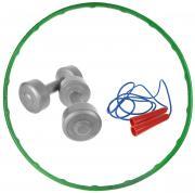"""Набор для фитнеса Евро-Классик """"Игра и здоровье"""", 3 предмета"""
